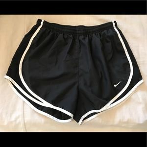 Nike dry fit running shorts for women, size M
